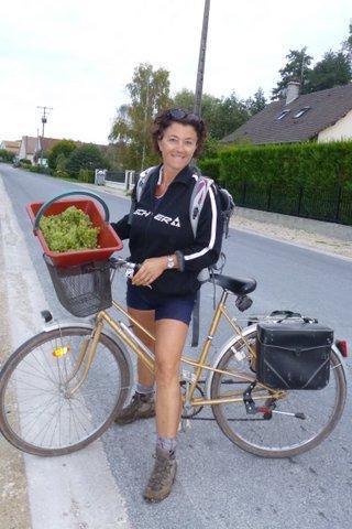 La livraison de la récolte, à vélo cette année