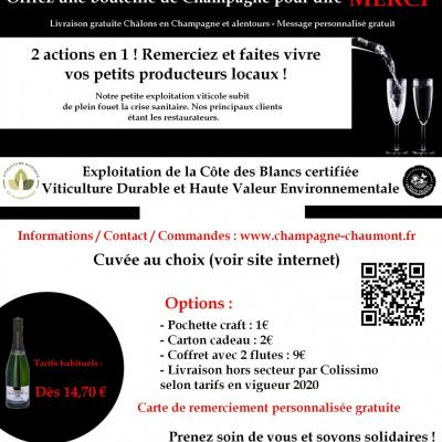Champagne conditions COVID19