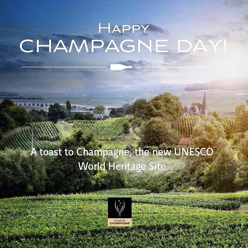 Happy champagne day